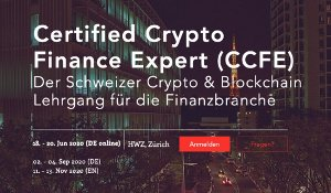 CCFE Certified Crypto Finance Expert