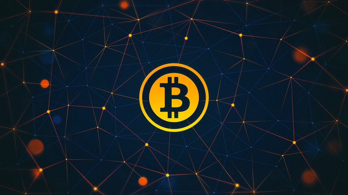 Bitcoin Münze