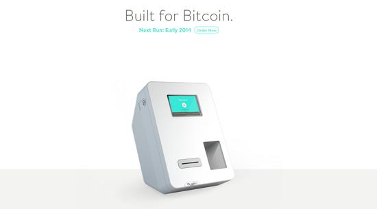 Bitcoin Bancomat Hersteller