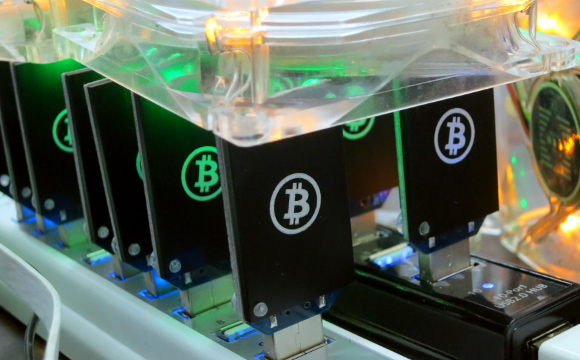 Bitcoin Mining Picture