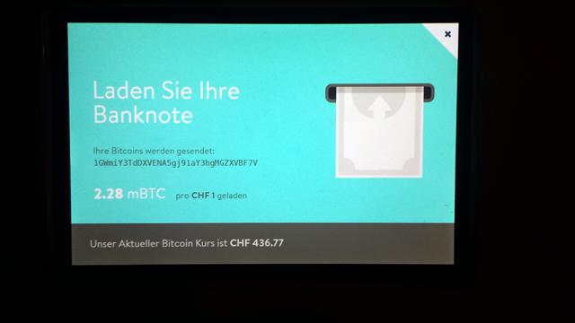 Bitcoin Schweizer Franken