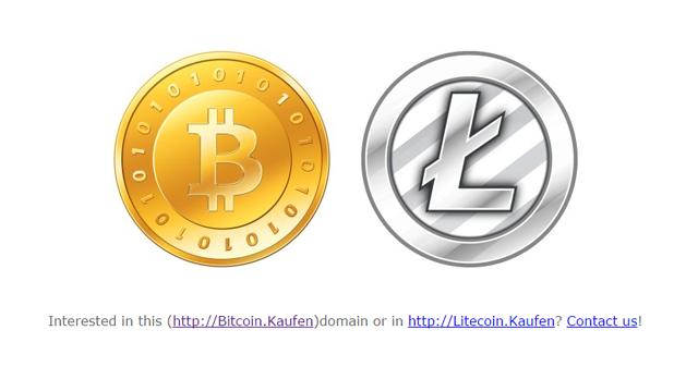 Bitcoin und Litecoin Symbolbild