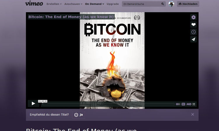Vimeo: Bitcoin
