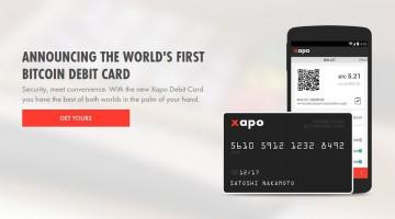 Xapo Debit Karte