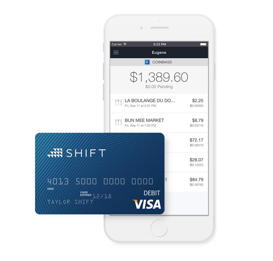 Debitcard Coinbase Bitcoin kaufen
