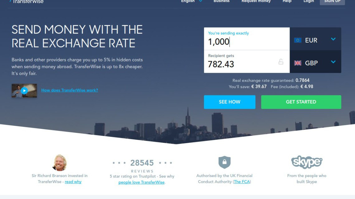 PayPal Alternative: Transferwise