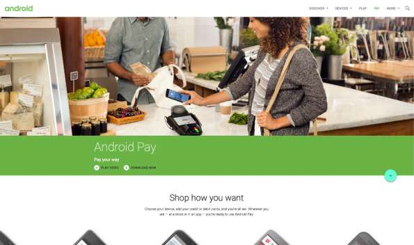 PayPal Alternative: Android Pay
