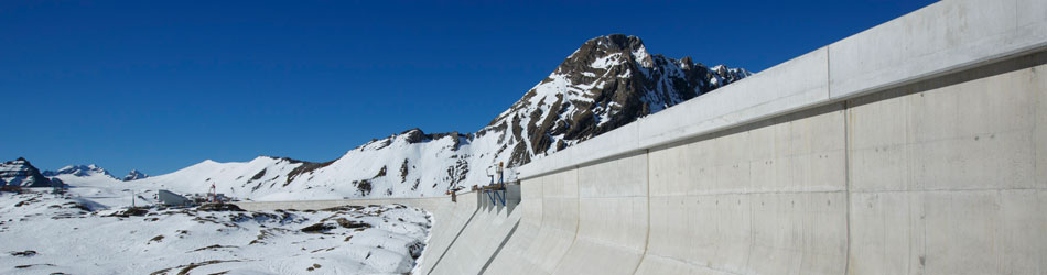 Glacial aXPo Linthal Hydroelectric Plant