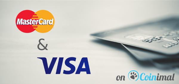 Mastercard VISA Bitcoin