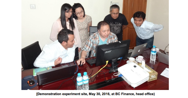 Blockchain Microfinance