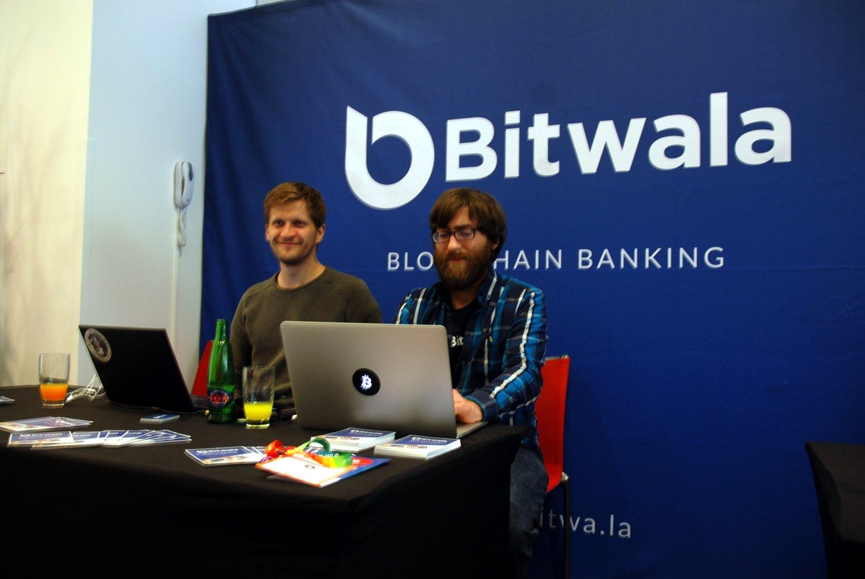 Bitwala @ Praha Bitcoin Conference