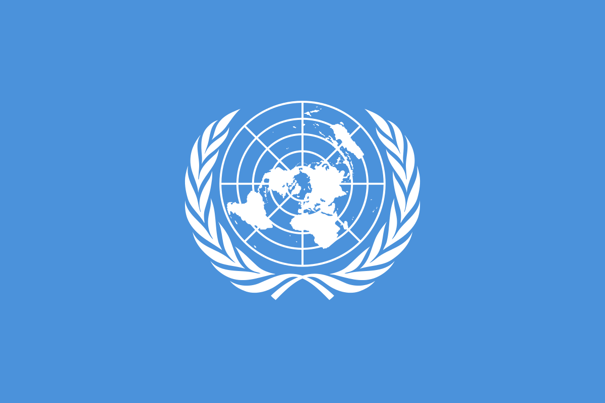 United Nations Flagge