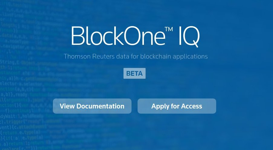 BlockOneIQ Reuters