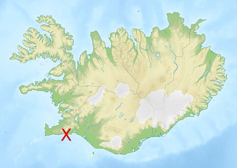Vulkansystem Svartsengi Island