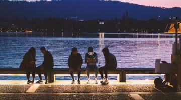 Millennials am Tsürisee