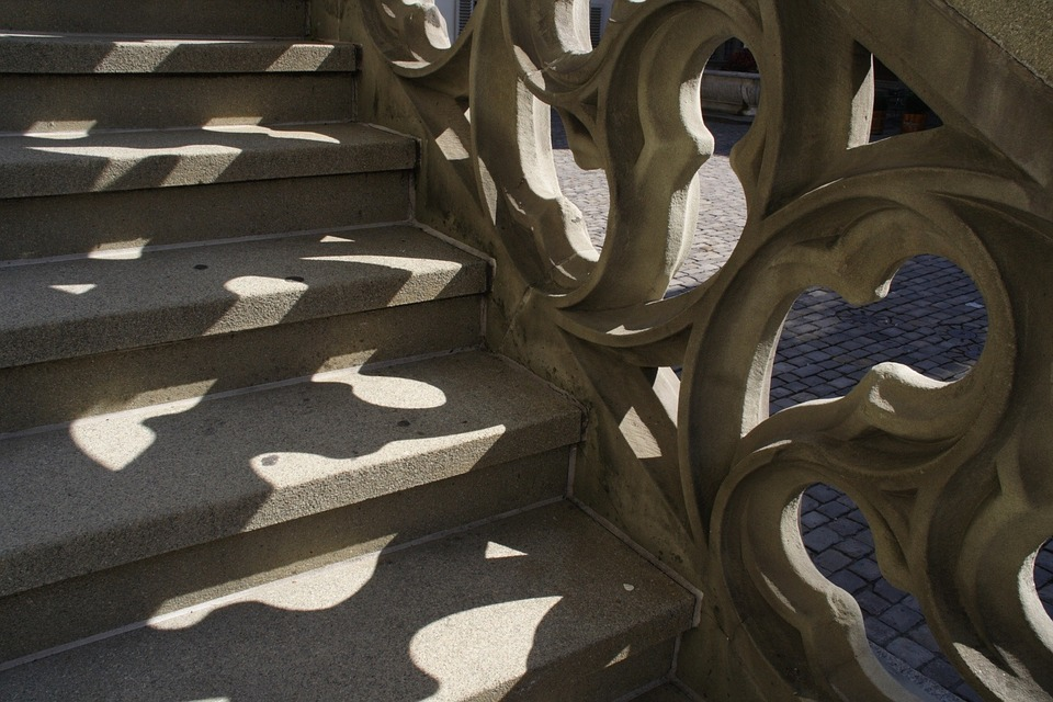 Bern Schweiz: Bundesrat (Treppe in Bern)