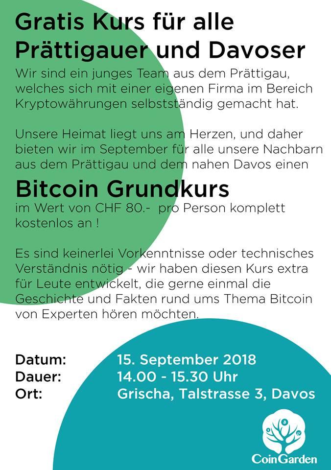 Bitcoin Grundkurs
