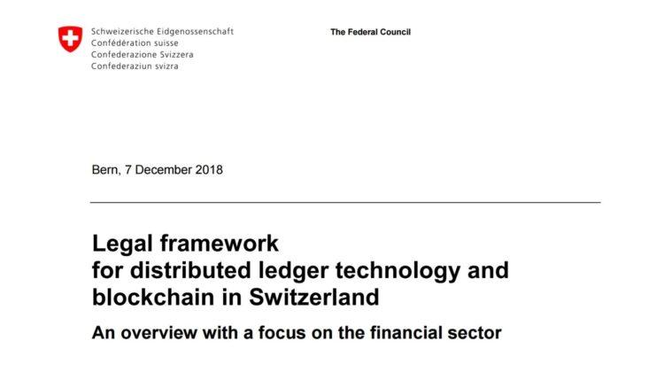 Bundesrat will Rahmenbedingungen für Blockchain/DLT weiter verbessern