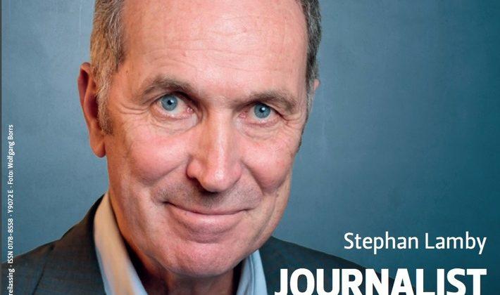 Journalist des Jahres 2018 Stephan Lamby