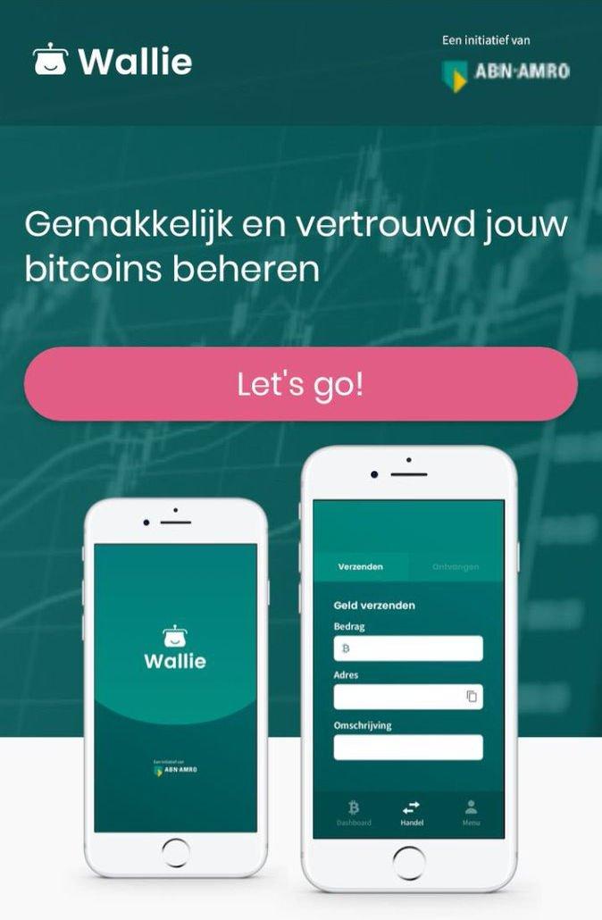 Bitcoin Wallet von ABN Amro (Bild: lekkercryptisch.nl)