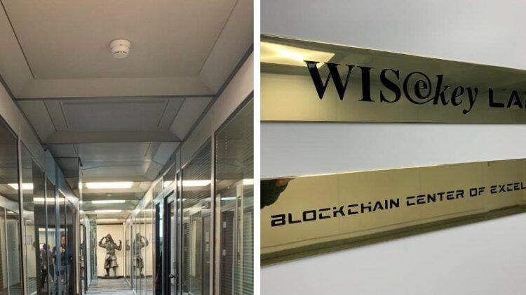 Wisekey Blockchain Center Genf, Schweiz