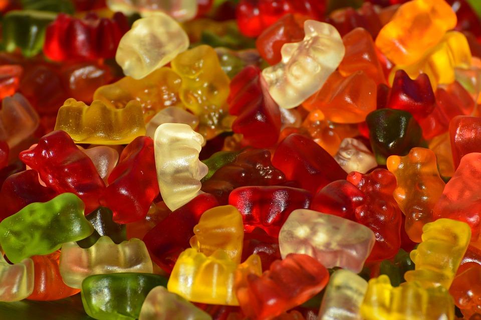 Gummibären als Symbolbild für den Bitcoin Bärenmarkt