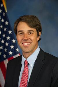 """Robert Francis """"Beto"""" O'Rourke ist ein amerikanischer Politiker der Demokratischen Partei. Er kündigte diesen März seine Kandidatur für die Präsiodentschaft 2020 an."""
