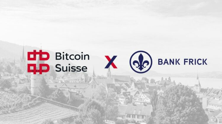 Bank Frick and Bitcoin Suisse present innovative product: Crypto certificate as a token and classic security