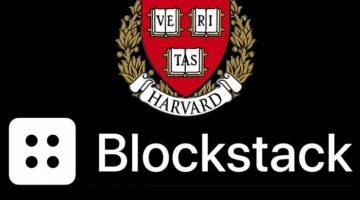 Die Eliteuniversität Harvard reiht sich in die lange Liste institutioneller Investoren ein. Das Unternehmen Blockstack bekommt eine Finanzspritze in Millionenhöhe.