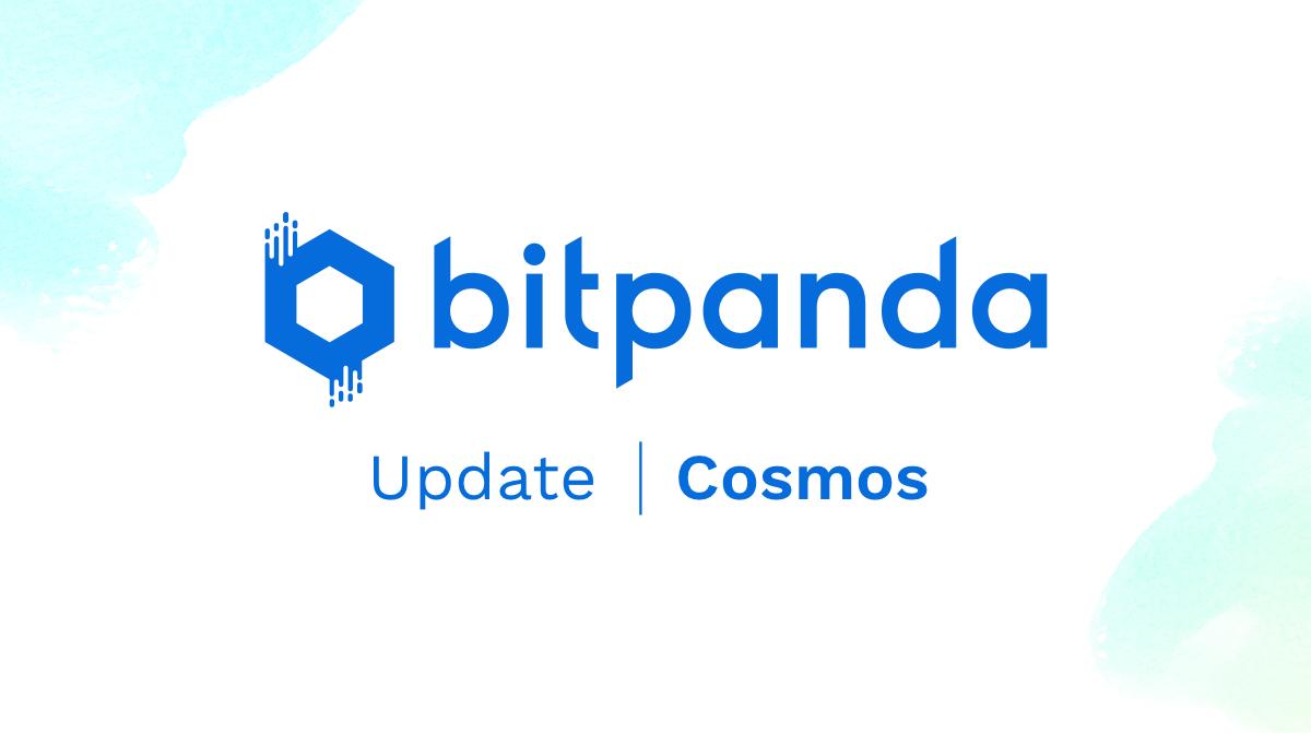 Cosmos (ATOM) ab sofort auf Bitpanda verfügbar