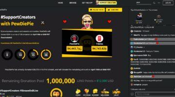 Größter YouTuber der Welt tritt Bitcoin-Streaming-Plattform bei