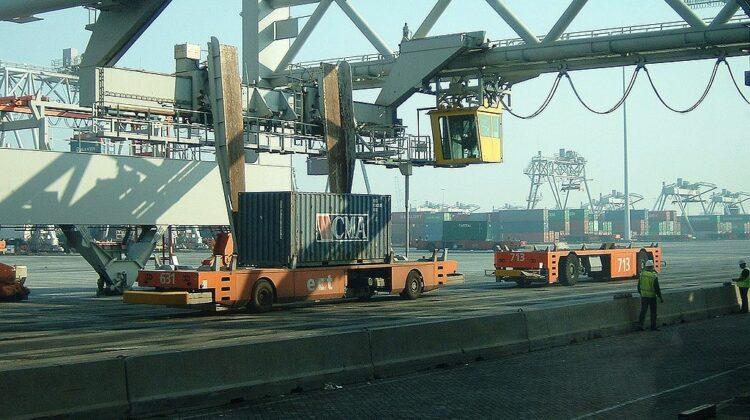 Hafen Rotterdam, Holland