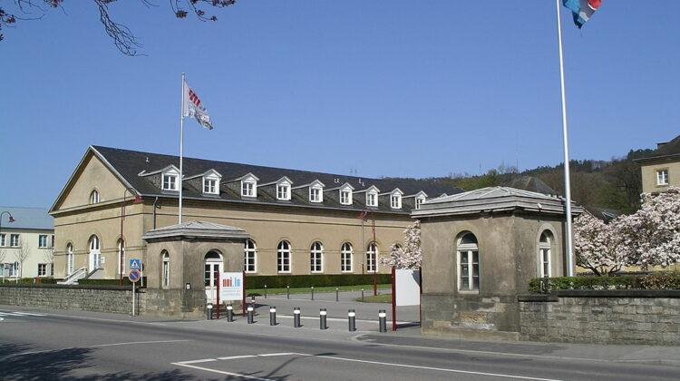 Schloss in Walferdingen, bis 2015 ein Campus der Universität Luxemburg
