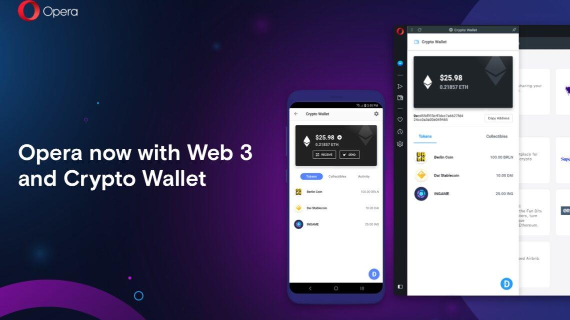 Opera Reborn 3: Browser mit neuem Design und Krypto-Wallet
