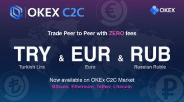 OKEx dehnt seinen Fiat-to-Token-Handel auf europäischen Märkten mit Euro, Lira und Rubel aus