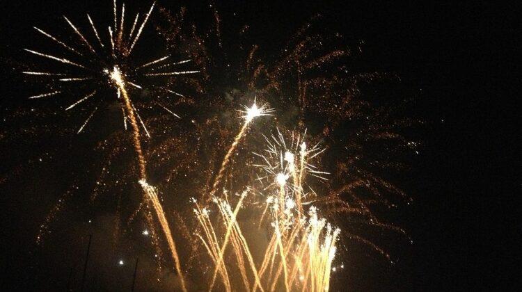 Feuerwerk am Zürifäscht. Lizenz: Gemeinfrei via Wikimedia
