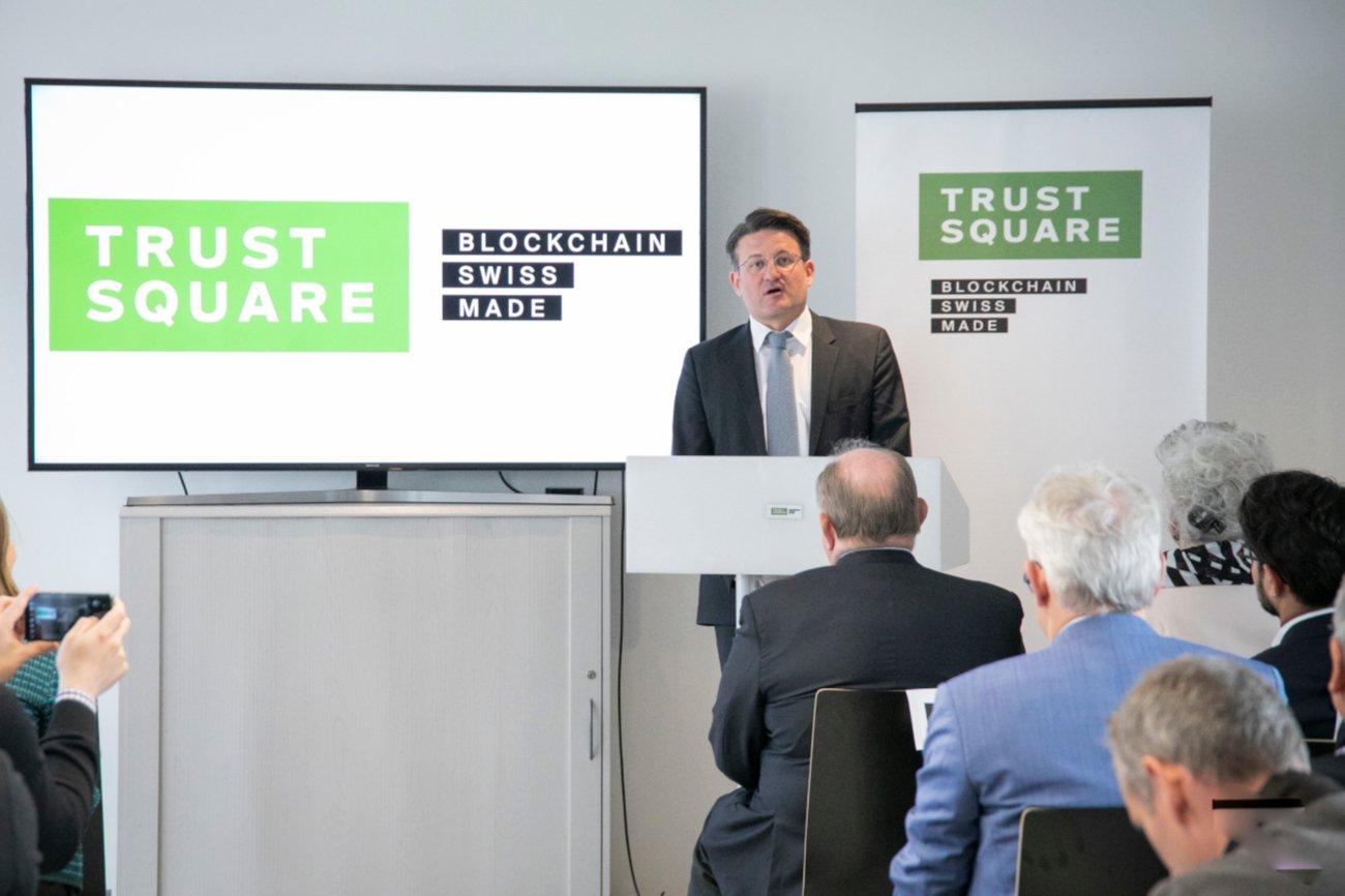 Trust Square Mitgründer Daniel Gasteiger