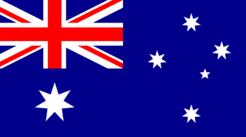 Flagge Australiens