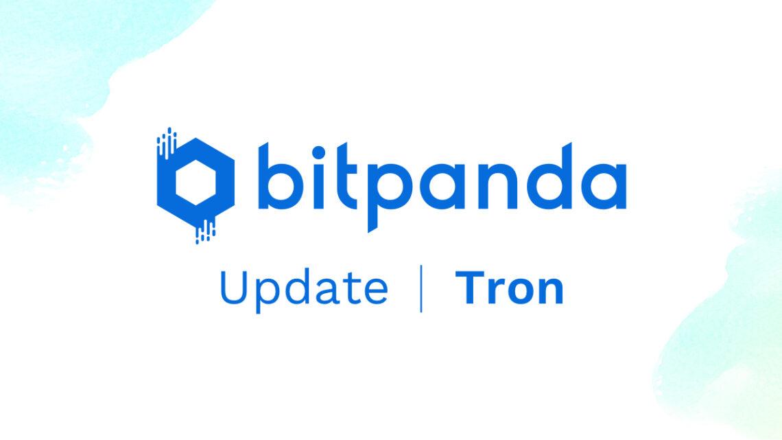 Coin Update: TRON (TRX) jetzt auf Bitpanda traden