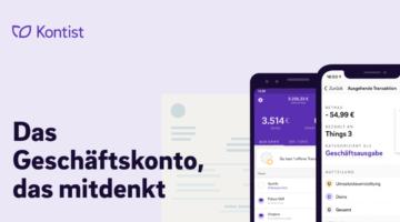 Kontis: Intelligentes Banking für Selbständige