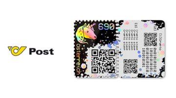 Österreichische Post präsentiert Blockchain-Briefmarke als Weltneuheit