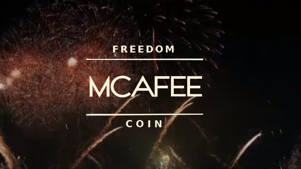 """Er hat es getan! McAfee präsentiert eigene Kryptowährung """"Freedom Coin"""""""