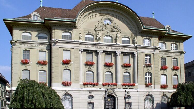 Nationalbankgebäude am Bundesplatz in Bern