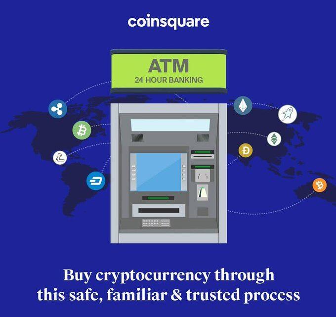 Die kanadische Börse Coinsquare hat Software gekauft, womit auf anachronistischen Geldautomaten Digitale Währungen wie Bitcoin gekauft und verkauft werden können.