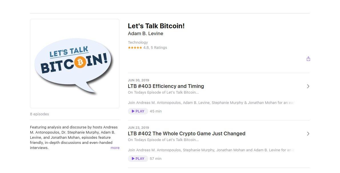 Bitcoin Podcast: Let's Talk Crypto - Bitcoin News Schweiz