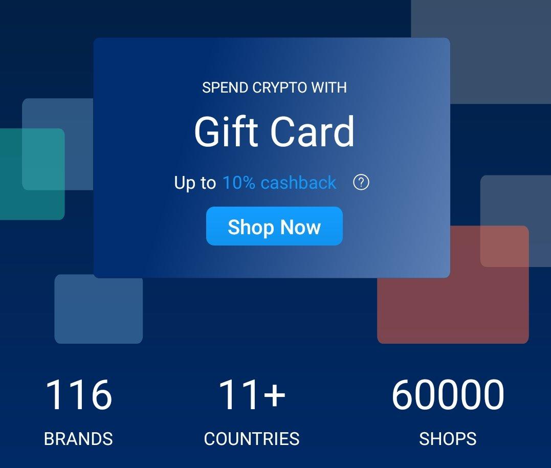 Kaufe Gutscheine und Bonuskarten direkt in der Wallet! Damit lassen sich diverse Services indirekt in Bitcoin bezahlen. Wunderbar!
