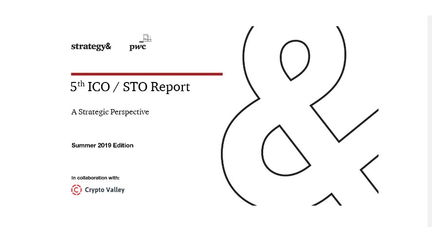 5th ICO / STO Report: Crypto exchanges conquering the market for Initial Coin Offerings