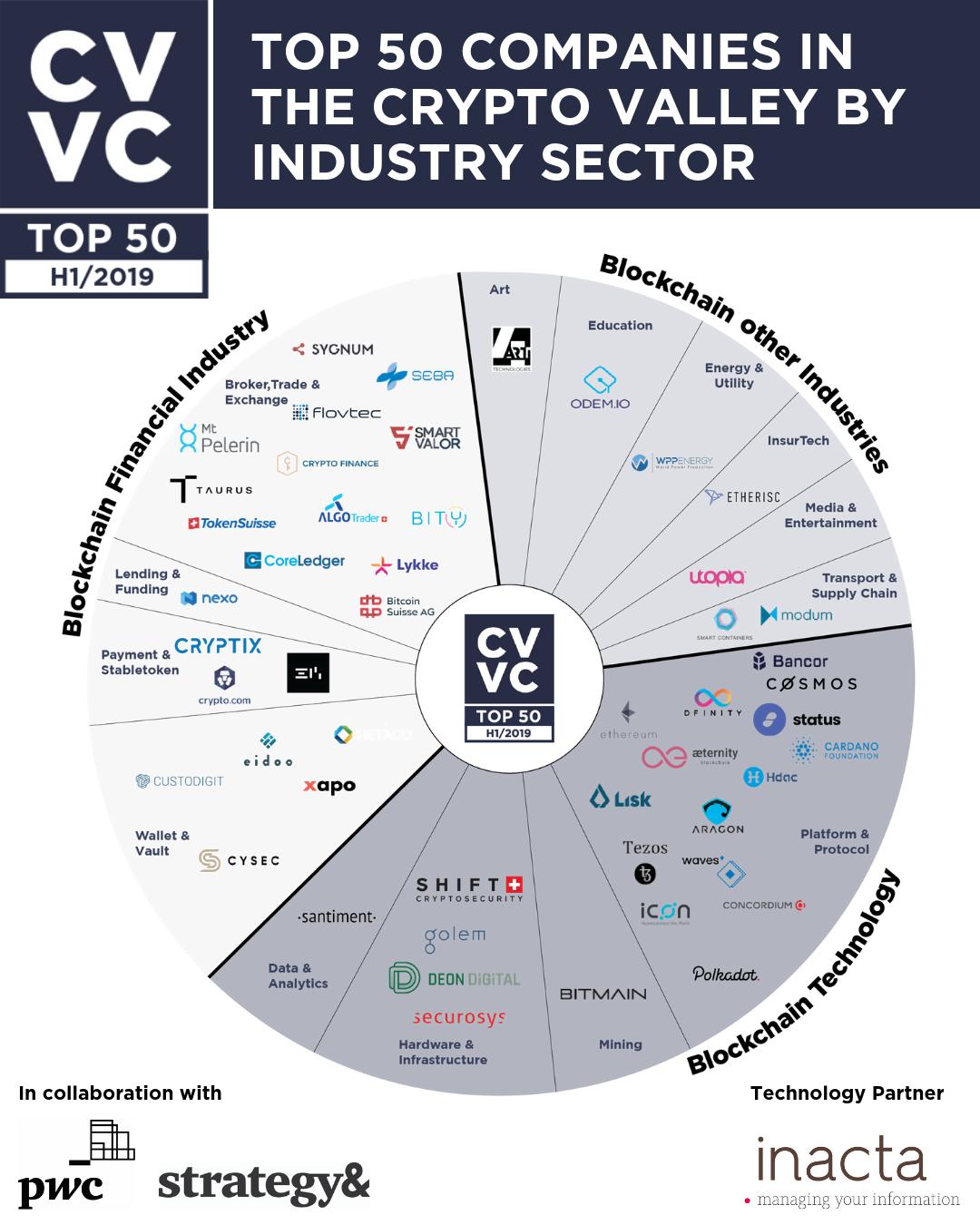 TOP 50 companies per sector