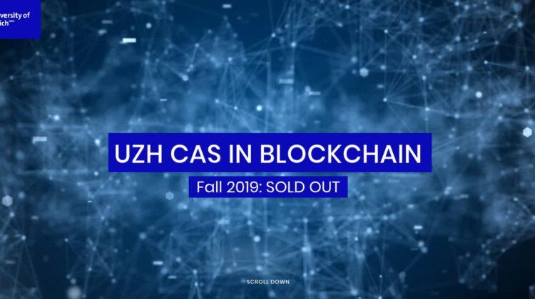 Blockchain CAS UZH