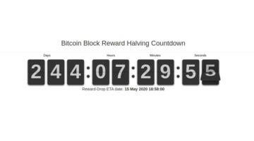 Bitcoin Block Reward Halving: Am 15. Mai 2020 ist es voraussichtlich soweit.